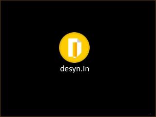A Design Studio- Desyn.In