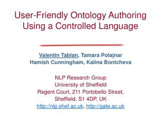 Presentation slides PPT