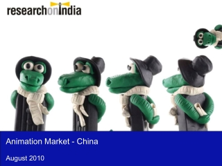 Animation Market in China 2010