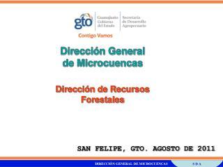 Direcci n General  de Microcuencas  Direcci n de Recursos  Forestales
