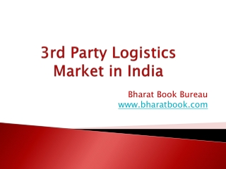3rd Party Logistics Market in India