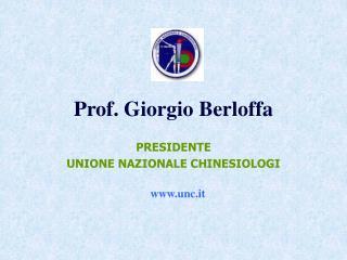 Prof. Giorgio Berloffa