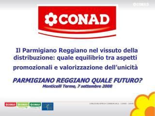 DIREZIONE MARCA COMMERCIALE - CONAD - 2007