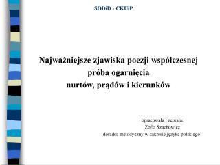 SODiD - CKUiP