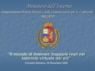 Ministero dell Interno