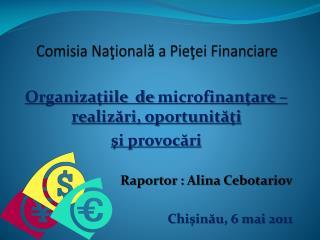 Comisia Nationala a Pietei Financiare