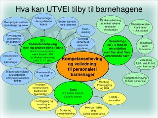 Hva kan UTVEI tilby til barnehagene