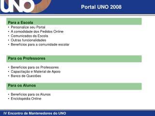 Portal UNO 2008