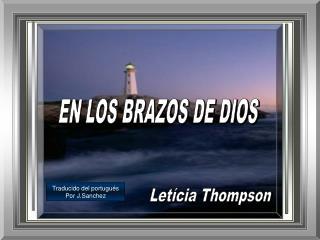 EN LOS BRAZOS DE DIOS