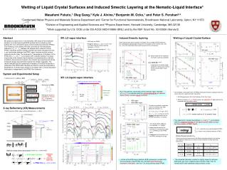 Wetting of Liquid Crystal Surfaces and Induced Smectic Layering at the Nematic-Liquid Interface