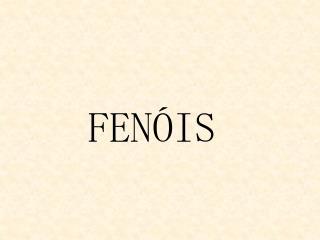FEN IS