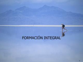 FORMACI N INTEGRAL