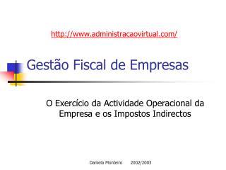 Gest o Fiscal de Empresas