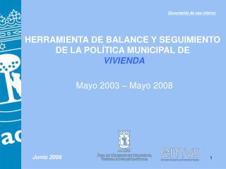 Mayo 2003   Mayo 2008