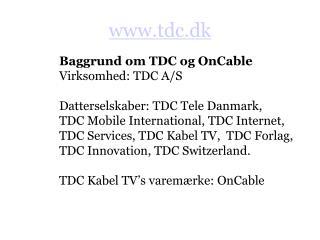 Tdc.dk