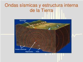 Ondas s smicas y estructura interna de la Tierra