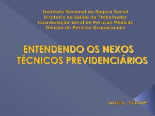 ENTENDENDO OS NEXOS T CNICOS PREVIDENCI RIOS