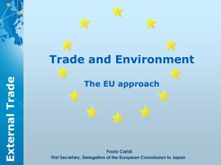 Trade and Environment  The EU approach