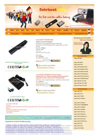Akku Asus K53SV-SX144D,adapter Asus K53SV-SX144D
