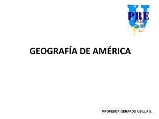 GEOGRAF A DE AM RICA