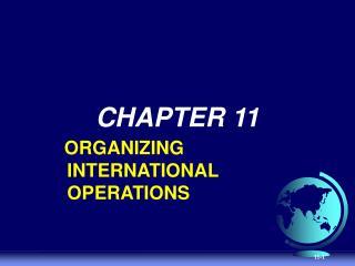 Organizational Consequence of Internationalization