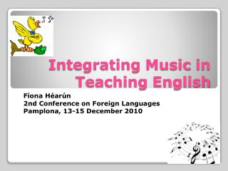 Integrating Music in Teaching English