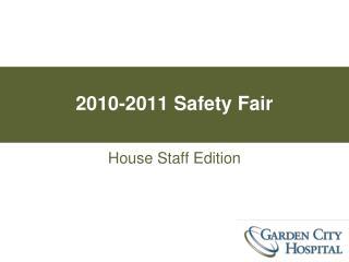 2010-2011 Safety Fair