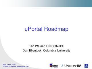 UPortal Roadmap