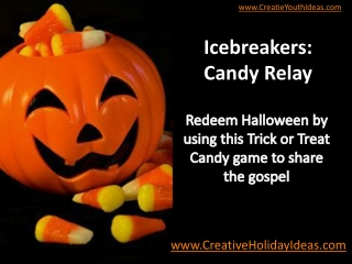 Icebreakers: Candy Relay