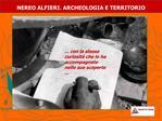 NEREO ALFIERI. ARCHEOLOGIA E TERRITORIO