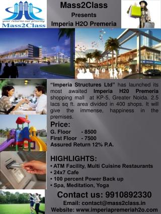 Shops/Office Space Imperia H2O Premeria-9650163000