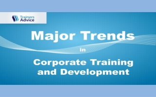 Major Trends in Corporate Training and Development