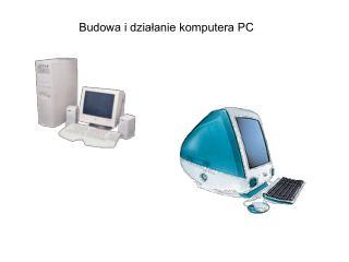 Budowa i dzialanie komputera PC