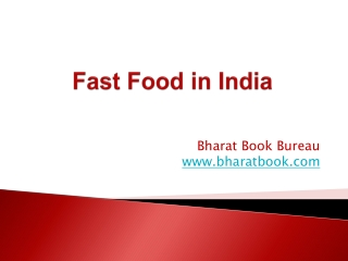 Fast Food in India