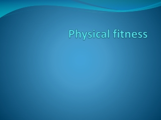 Physical Activity Readiness Questionnaire  PAR-Q