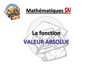 Math matiques SN