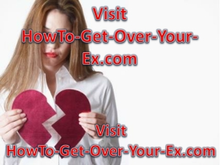 how to get over your ex girlfriend
