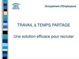 Groupement d Employeurs