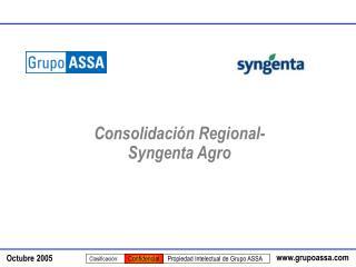 Consolidaci n Regional-  Syngenta Agro