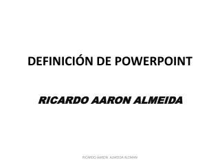 Definici n de powerpoint