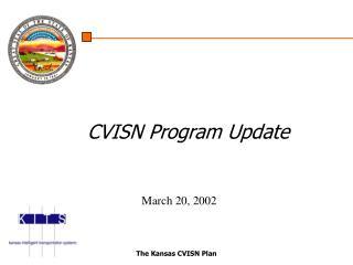 The Kansas CVISN Plan