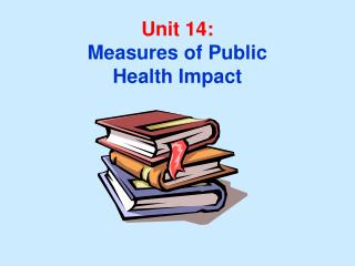 Unit 14: Measures of Public Health Impact