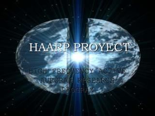 HAARP PROYECT