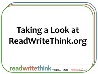 Taking a Look at ReadWriteThink