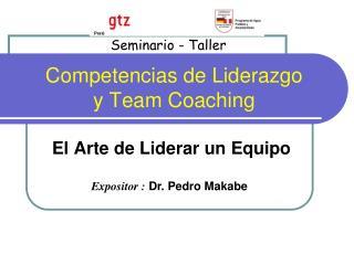 Competencias de Liderazgo y Team Coaching