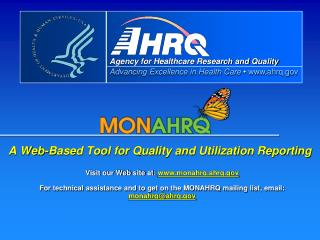 A Web-Based Tool for Quality and Utilization Reporting