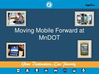 Moving Mobile Forward at MnDOT