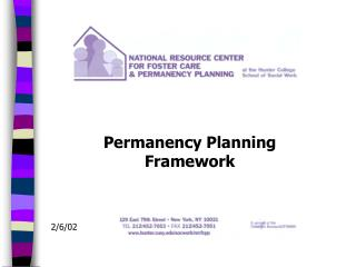 Permanency Planning Framework
