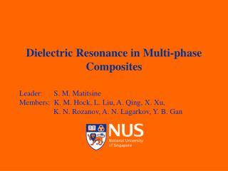 Dielectric Resonance in Multi-phase Composites