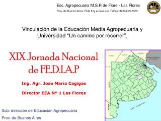 Vinculaci n de la Educaci n Media Agropecuaria y  Universidad  Un camino por recorrer .